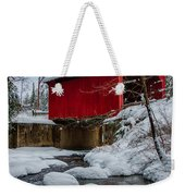 Vermonts Moseley Covered Bridge Weekender Tote Bag