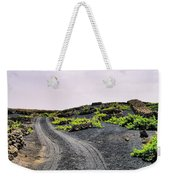 Vineyard On Lanzarote Weekender Tote Bag
