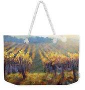 Vineyard Sunset Weekender Tote Bag
