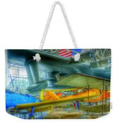 Vintage Airplanes Weekender Tote Bag