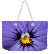 Viola Named Sorbet Blue Heaven Jump-up Weekender Tote Bag