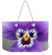 Viola Named Sorbet Marina Baby Face Weekender Tote Bag by J McCombie