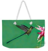 Violet-tailed Sylph Weekender Tote Bag