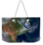 Water And Earth Weekender Tote Bag