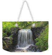 Water Fall Moore State Park Weekender Tote Bag