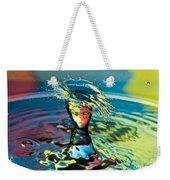 Water Splash Having A Bad Hair Day Weekender Tote Bag