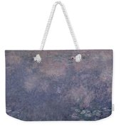 Waterlilies Two Weeping Willows Weekender Tote Bag