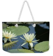 2 Waterlilys Rising Above The Water Weekender Tote Bag