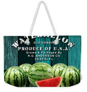 Watermelon Farm Weekender Tote Bag