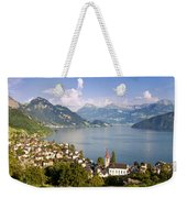 Weggis Switzerland Weekender Tote Bag