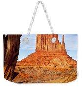 West Mitten Monument Valley Weekender Tote Bag