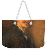 Whistler's Brown And Gold Self Portrait Weekender Tote Bag