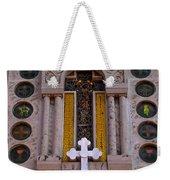 White Cross At St Sophia Weekender Tote Bag