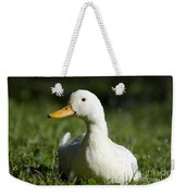 White Duck Weekender Tote Bag