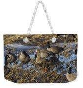 Whitefront Goose Weekender Tote Bag