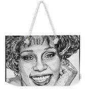 Whitney Houston In 1992 Weekender Tote Bag