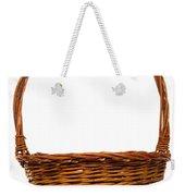 Wicker Basket Number Twelve Weekender Tote Bag