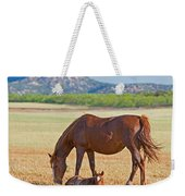 Wild Horses Mother And Foal Weekender Tote Bag