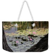 Wild Water Lilies In The River Weekender Tote Bag