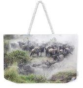 Wildebeest Migration 1 Weekender Tote Bag