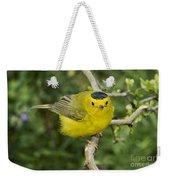 Wilsons Warbler Weekender Tote Bag