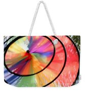 Wind Wheel Weekender Tote Bag