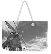 Windmill In The Sky In Black And White Weekender Tote Bag
