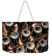 Wine Bottles Weekender Tote Bag by Elena Elisseeva