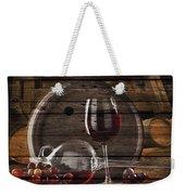 Wine Weekender Tote Bag
