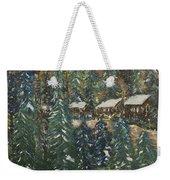 Winter Has Come To Door County. Weekender Tote Bag