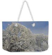Winter In Oregon Weekender Tote Bag