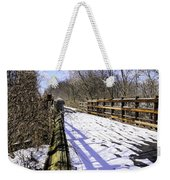 Winter On Macomb Orchard Trail Weekender Tote Bag