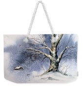 Winter Tree Weekender Tote Bag