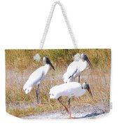 Wood Storks Weekender Tote Bag