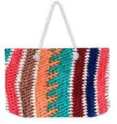 Wool Pattern Weekender Tote Bag by Tom Gowanlock