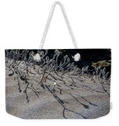 Woolly Willow Growing Wild In The Black Weekender Tote Bag