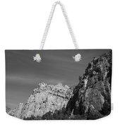 Wyoming Mountain Peaks Weekender Tote Bag