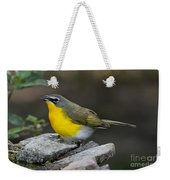 Yellow-breasted Chat Weekender Tote Bag