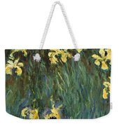 Yellow Irises  Weekender Tote Bag