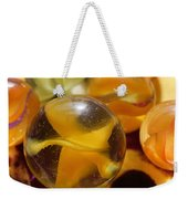 Yellow Marbles Weekender Tote Bag