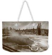 Yellowstone Park Weekender Tote Bag