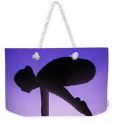Yoga Crane Pose Weekender Tote Bag