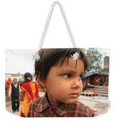 Young Boy Orchha  Weekender Tote Bag