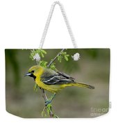 Young Orchard Oriole Weekender Tote Bag
