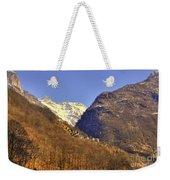 Alpine Village Weekender Tote Bag