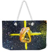 Barack Obama Star Weekender Tote Bag by Augusta Stylianou