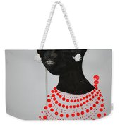 Dinka Bride - South Sudan Weekender Tote Bag