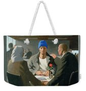 20. Jesus Appears At Emmaus / From The Passion Of Christ - A Gay Vision Weekender Tote Bag