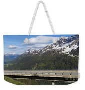 Mountain Road Weekender Tote Bag