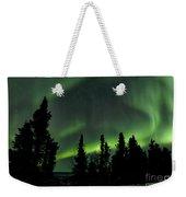 The Aurora Borealis Weekender Tote Bag